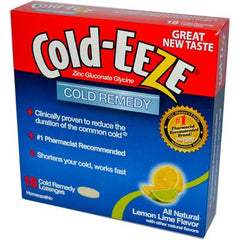 Cold-EEZE Cold Remedy Lozenges Lemon Lime - 18 Lozenges