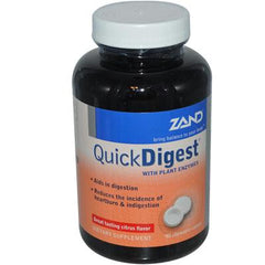 Zand Quick Digest Citrus - 90 Chewables