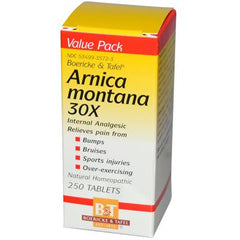 Boericke and Tafel Arnica Montana 30X - 250 Tablets
