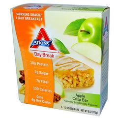 Atkins Day Break Bar Apple Crisp - 5 Bars