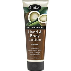 Shikai All Natural Hand And Body Lotion Coconut - 8 fl oz