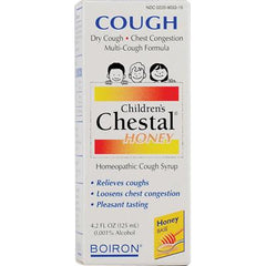 Boiron Children's Chestal Cough Syrup Honey - 4.2 fl oz