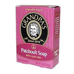 Grandpa's Patchouli Bar Soap with Aloe Vera - 3.25 oz