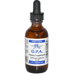 Progressive Laboratories OPA Orthophosphoric Acid Dropper - 2 fl oz