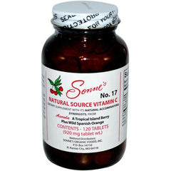 Sonne's Natural Source Vitamin C No 17 - 120 Tablets