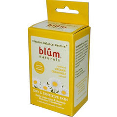 Blum Naturals Dry and Sensitive Skin Daily Cleansing and Makeup Remover Towelettes - 10 Towelettes