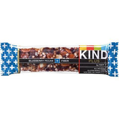 Kind Fruit and Nut Bars Bar Blubry Pcn + Fbr - Case of 12 - 1.4 oz