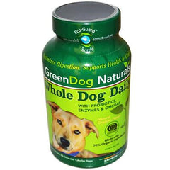 Rainbow Light GreenDog Naturals Whole Dog Daily Natural Honey Oatmeal - 60 Chewable Tablets