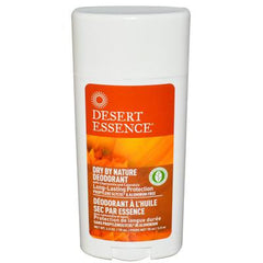 Desert Essence Dry By Nature Deodorant Chamomile and Calendula - 2.5 oz