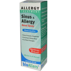 BioAllers Sinus and Allergy Relief Nasal Spray - 0.8 fl oz
