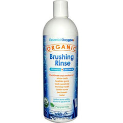 Essential Oxygen Organic Brushing Rinse Peppermint - 16 fl oz