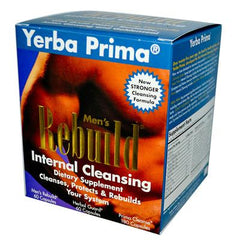 Yerba Prima Men's Rebuild Internal Cleansing - 1 Kit