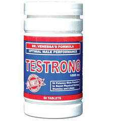 Dr. Venessa's Formula Testrong Optimal Male Performance - 1000 mg - 60 Tablets