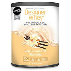 Designer Whey Protein Powder Vanilla Almond - 12 oz