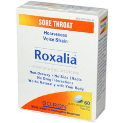 Boiron Roxalia Sore Throat - 60 Tablets