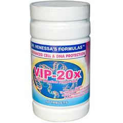Dr. Venessa's Formulas VIP 20x Viral Infection Protection - 60 Tablets