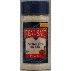 Redmond RealSalt Nature's First Sea Salt Fine Salt - 9 oz - Case of 12