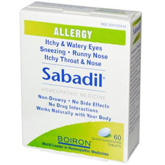 Boiron Sabadil Allergy - 60 Tablets