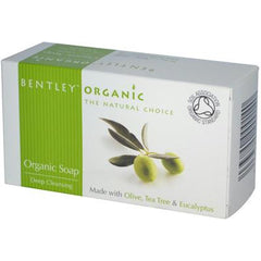 Bentley Organic Deep Cleansing Organic Soap - Olive Tea Tree and Eucalyptus - 5.3 oz