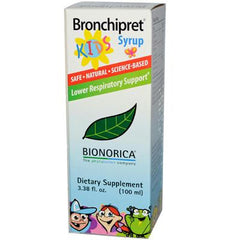 Bronchipret Syrup For Kids - 3.38 fl oz