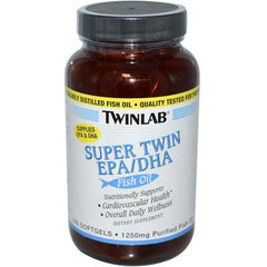 Twinlab Super Twin EPA DHA Fish Oil - 100 Softgels