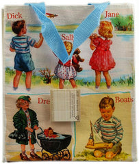 Blue Q Dick and Jane Tote - 1 Bag