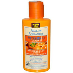 Avalon Organics Vitamin C Renewal Moisture Plus Lotion SPF 15 - 4 fl oz