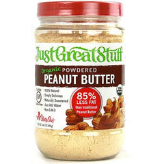 Betty Lou's Just Great Stuff Powdered Peanut Butter Organic - 6.43 oz - Case of 12