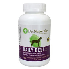 Pet Naturals of Vermont Natural Dog Daily Liver - 180 Chewable Tablets