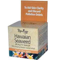 Reviva Labs Beauty Mask Hawaiian Seaweed for All Skin Types - 1.5 oz
