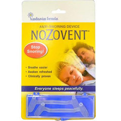 Scandinavian Formulas Nozovent Anti-Snoring Device - 2 Pieces
