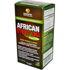 Genceutic Naturals African Mango Plus Green Tea - 500 mg - 60 Vcaps