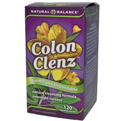 Natural Balance Colon Clenz - 120 Vegetarian Capsules