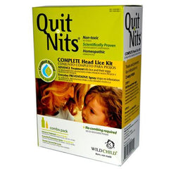 Hylands Homeopathic Hyland's Quit Nits Complete Head Lice Kit 4 Piece Kit - Pack