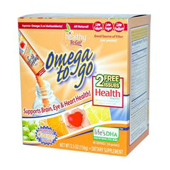 To Go Brands Omega To Go Creamsicle Orange - 24 Packets