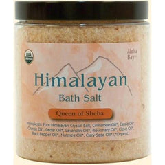 Aloha Bay Himalayan Bath Salts Queen of Sheba - 24 oz