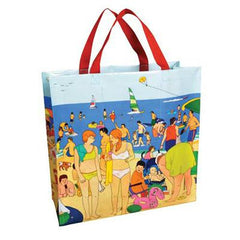 Blue Q Shopper - Day At The Shore