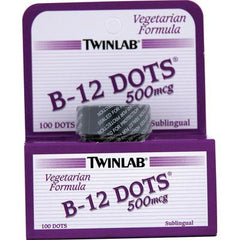 Twinlab B-12 Sublingual Dots - 500 mcg - 100 Tablets