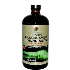 Nature's Answer Liquid Glucosamine and Chondroitin with MSM Natural Orange - 32 fl oz