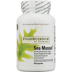 FoodScience of Vermont Sea Mussel - 90 Capsules