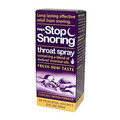 Essential Health Helps Stop Snoring Throat Spray - 2 fl oz