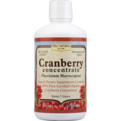 Only Natural Organic Cranberry Concentrate - 32 fl oz