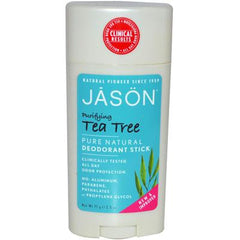 Jason Deodorant Stick Tea Tree - 2.5 oz