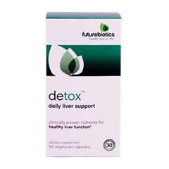 Futurebiotics Detox - 60 Vegetarian Capsules