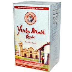 Wisdom Natural Organic Yerba Mate Royale Naturally Sweet - 25 Tea Bags