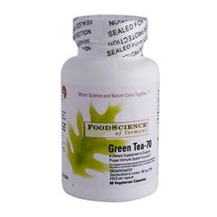 FoodScience of Vermont Green Tea-70 - 350 mg - 60 Vegetable Capsules