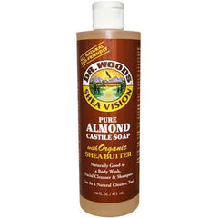 Dr. Woods Shea Vision Pure Almond Castile Soap with Organic Shea Butter - 16 oz