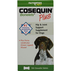 Cosequin Cosequin Bonelets Plus for Dogs - 100 Chewable Tablets