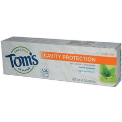 Tom's of Maine Cavity Protection Toothpaste Spearmint - 5.5 oz - Case of 6