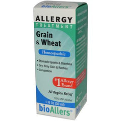 NatraBio Grain and Wheat Allergy Treatment - 1 fl oz